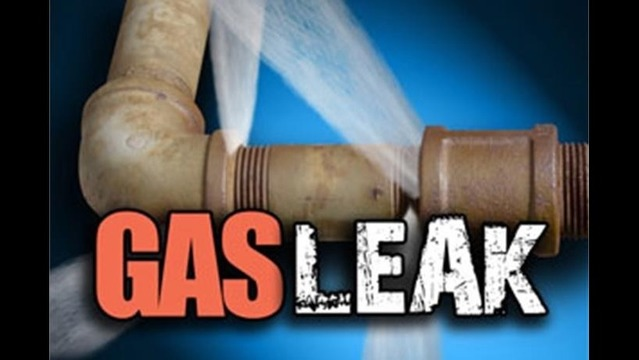 Utility Worker Hits Gas Line