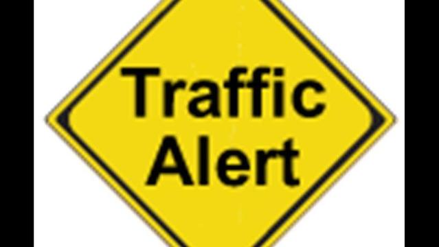 Traffic Alerts for Monday, July 21st