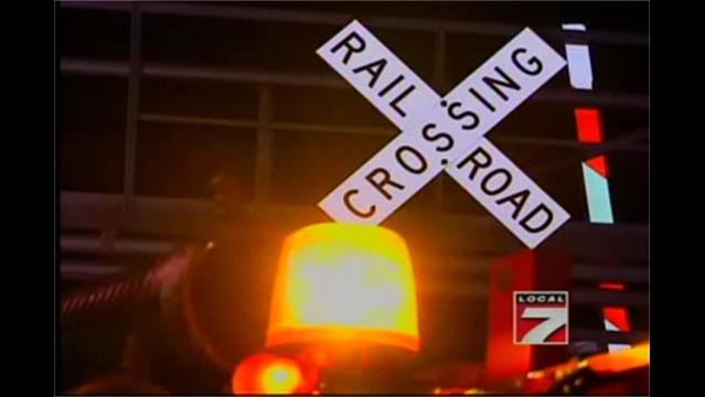 Train Plows into Car in Webster County