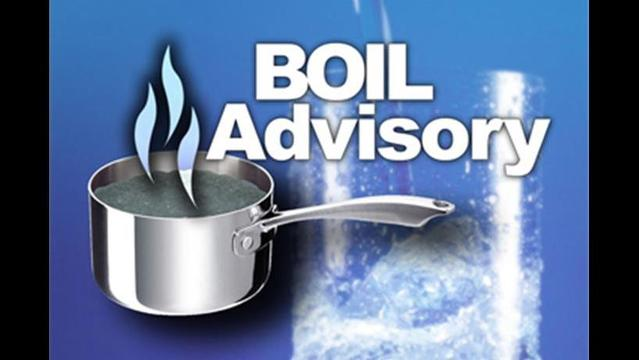 Utility Work Calls for Boil Advisory