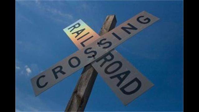 Work at Railroad Crossings Closing Intersections this Week