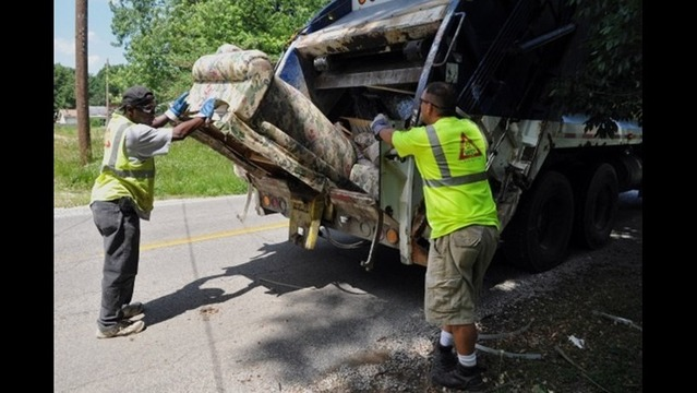 Evansville Announces Heavy Trash Pickup