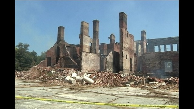 Pre-Trial Dates Set for Old Grayville High School Fire