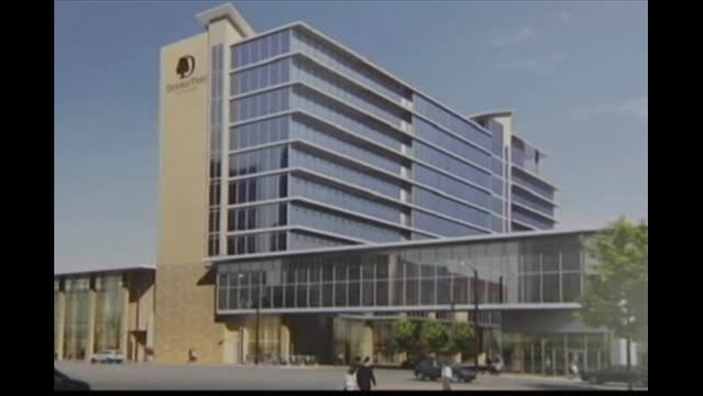 Date Announced for Ground Breaking of Evansville Convention Hotel