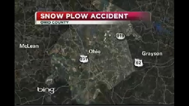 One Killed In Accident Involving Snow Plow