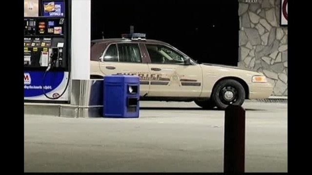Detectives Looking for Gas Station Robbery Suspect