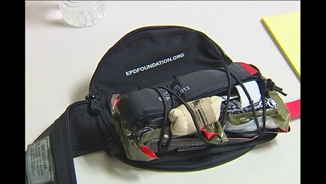 EPD Officers Train to Use New Equipment