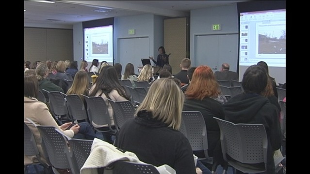 High School Students Visit USI for Media Day