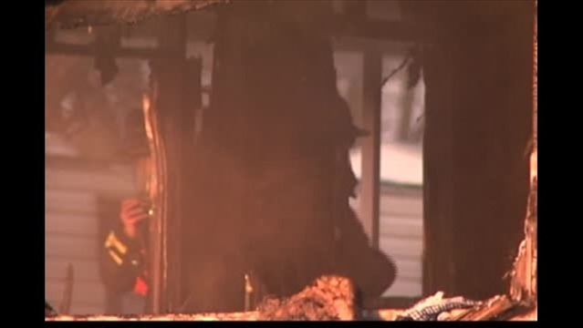 Crews Respond to Mobile Home Fire in McCutchanville