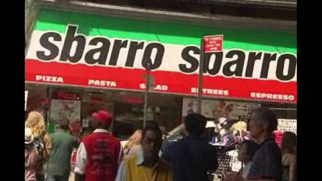 Sbarro Files for Bankruptcy