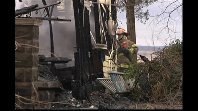 Fire Destroys Posey County Home