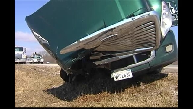 Two Semis Involved in Accident in Posey Co.