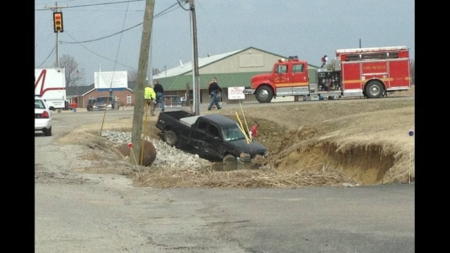 Five Injured in Spencer County Accident