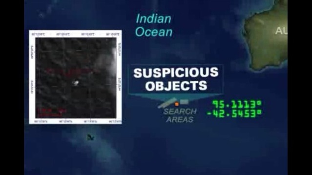 Authorities Say Malaysia Flight Ended in the Indian Ocean