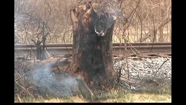 Crews Respond to Brush Fires in Ohio Co.