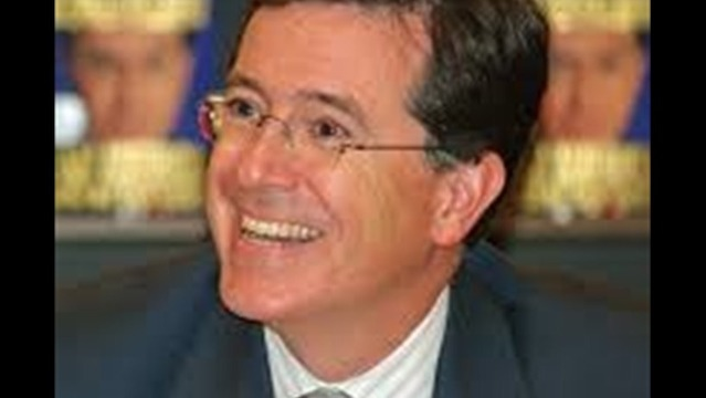 Stephen Colbert Replacing David Letterman on the Late Show