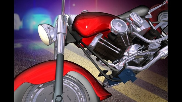 66 Year Old Man Injured in Motorcycle Crash