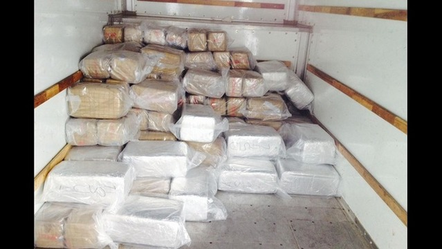 Authorities Seize More than 1 Ton of Marijuana