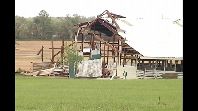 Warrick County 4-H Storm Damage