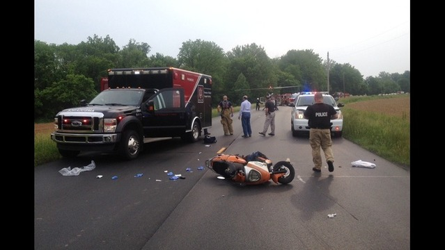 Two Seriously Injured in Moped Crash