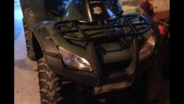 Deputies: Man Runs Over Neighbor with 4-Wheeler