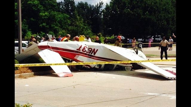 Carmi Plane Crashes in Louisiana
