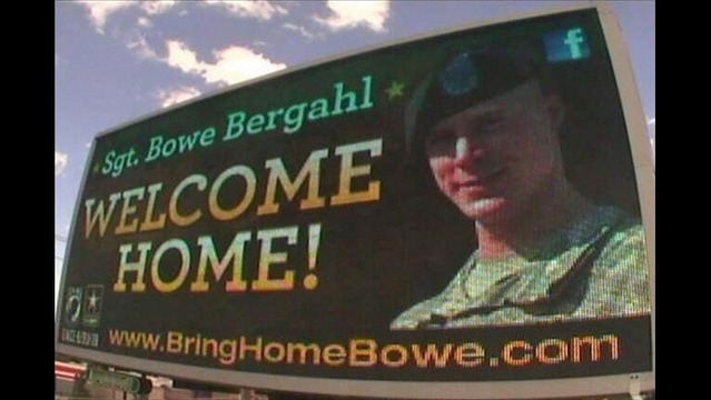 POW Bergdahl Arrives in the US