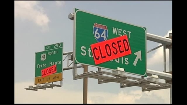 Crews Close Interstate Ramps for Resurfacing Project