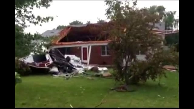 Tornado Causes Damage in Central Indiana