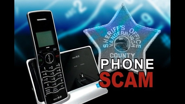 Sheriff's Alerting People about Fake Deputy Phone Scam