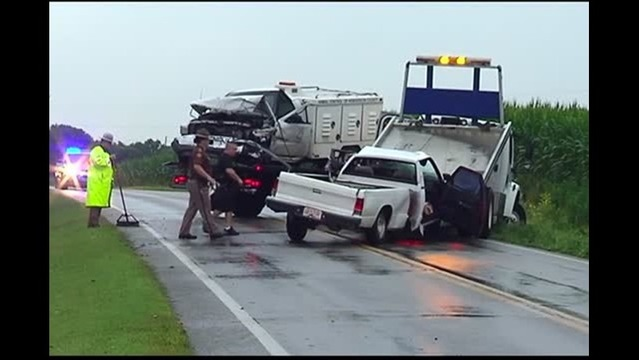 Crash Involving Animal Control Truck Injures Three