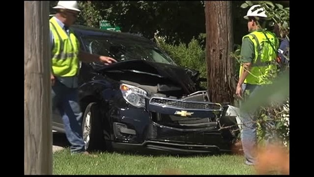 Female Driver Injured in West Side Accident