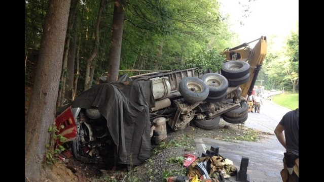 Dump Truck Accident Kills Driver in French Lick