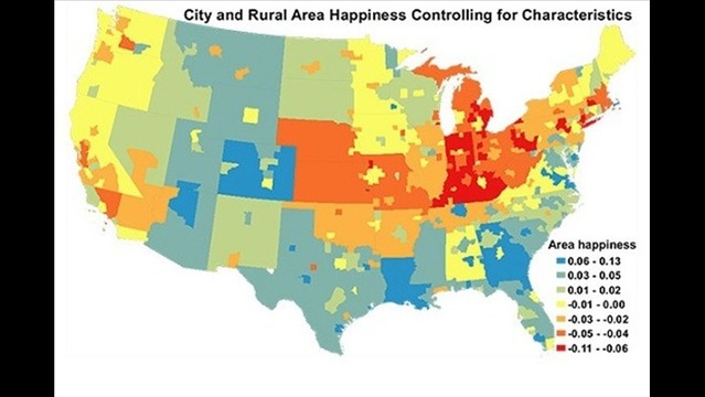 Evansville-Henderson Made Top Ten 'Unhappiest' Cities in the U.S.