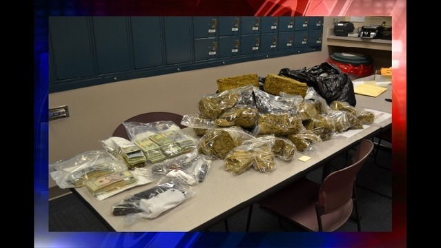 Guns, Cash, Pills and 60 Pounds of Pot Seized in Drug Bust