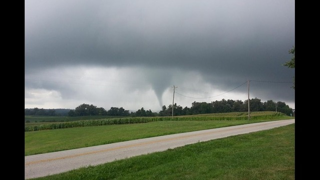 EMA: Tornado Touched Down in Henderson Co.