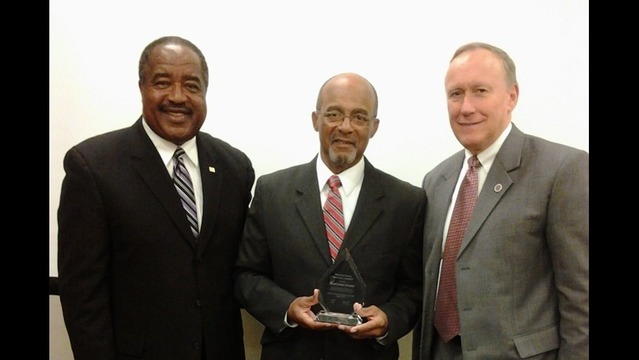 Greer Receives Honor for Decades of Exemplary Service