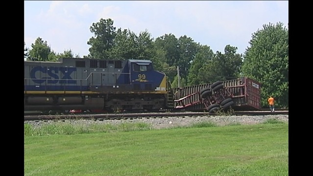Train Slams into Semi Stuck on Tracks