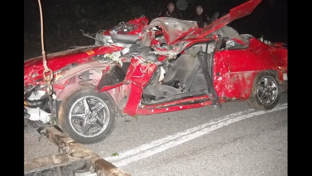 Speeding Leads to Injury in Single Car Accident