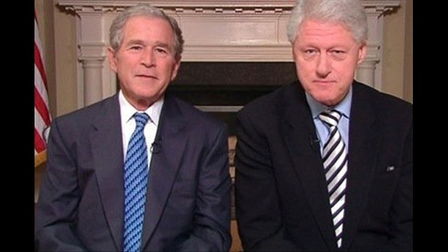 Presidents Bush & Clinton To Launch New Intiative