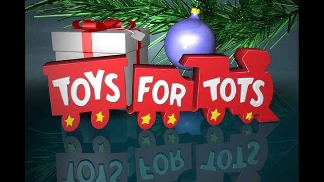 Davenport company employees make Toys For Tots donation