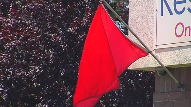 Red Flag Day Offers Relief Indoors
