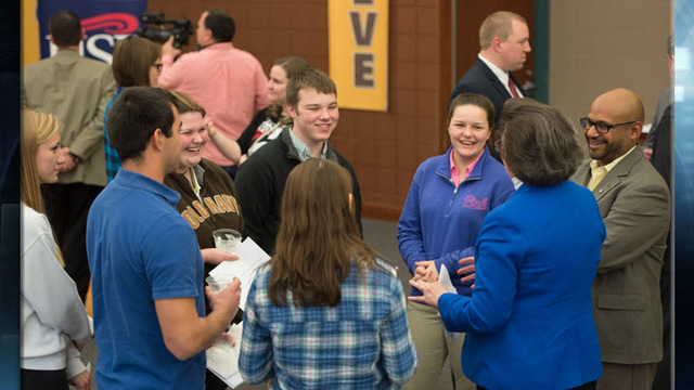 EVSC, USI Create Scholarships for Medical Professions Academy
