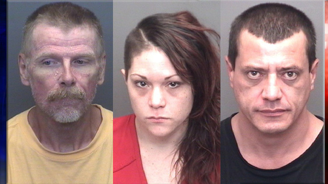 EPD: Three Arrested on Drug Charges