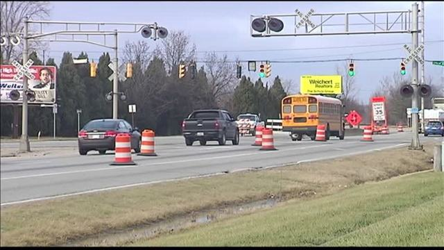 Traffic Pattern to Shift for Railroad Work on Highway 41 in Evansville
