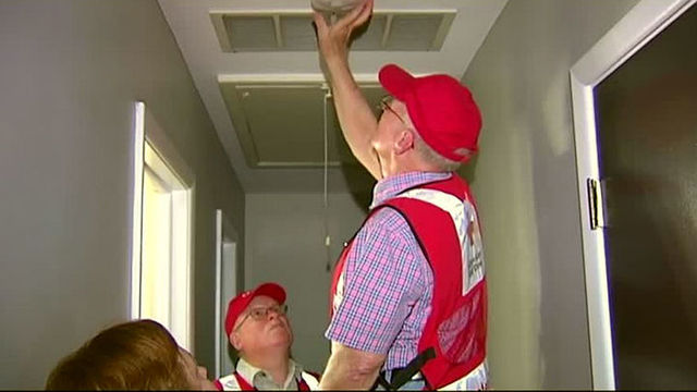 The American Red Cross Honors Martin Luther King Jr. by Installing Free Smoke Alarms Today