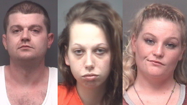 Three Arrested on Meth Charges in Chandler
