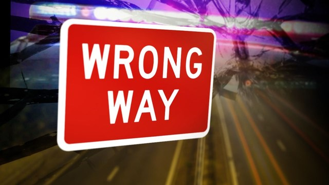 Wrong-Way Driver Charged with DUI