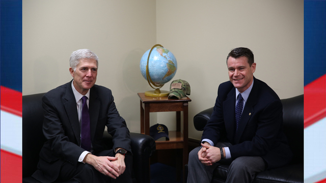 Sen. Young Meets with Nominee Gorsuch
