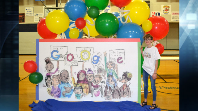 Kentucky Student Moves on in Doodle 4 Google Competition